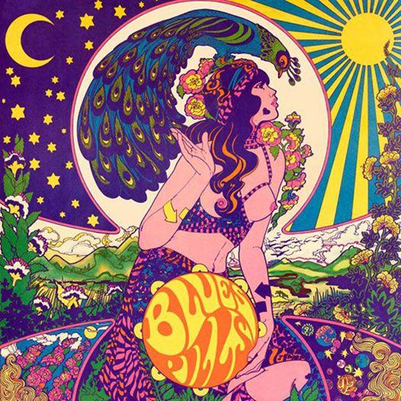 Psychedelische Album cover