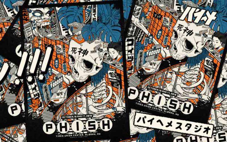 phish poster design