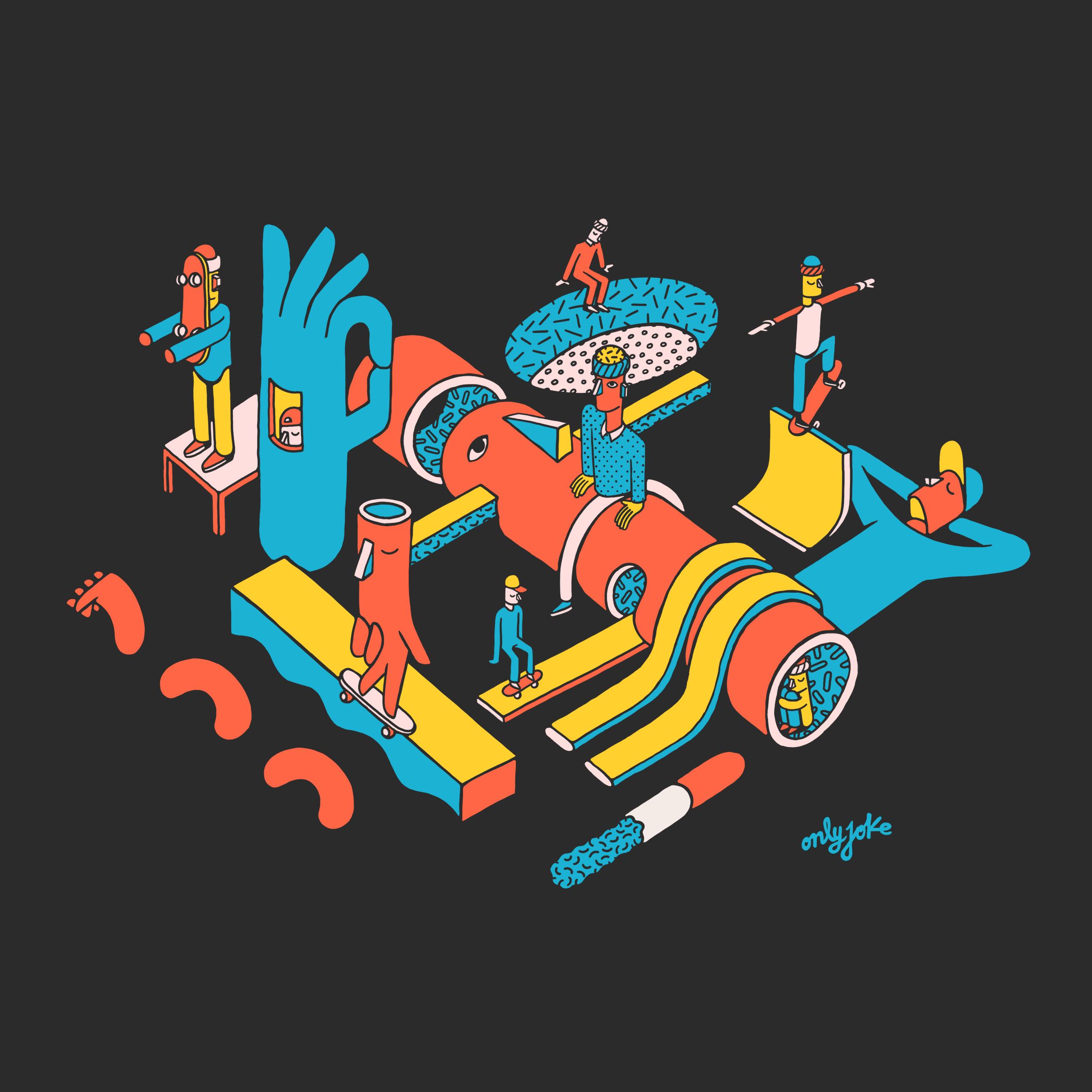 Illustration Camilo Huinca