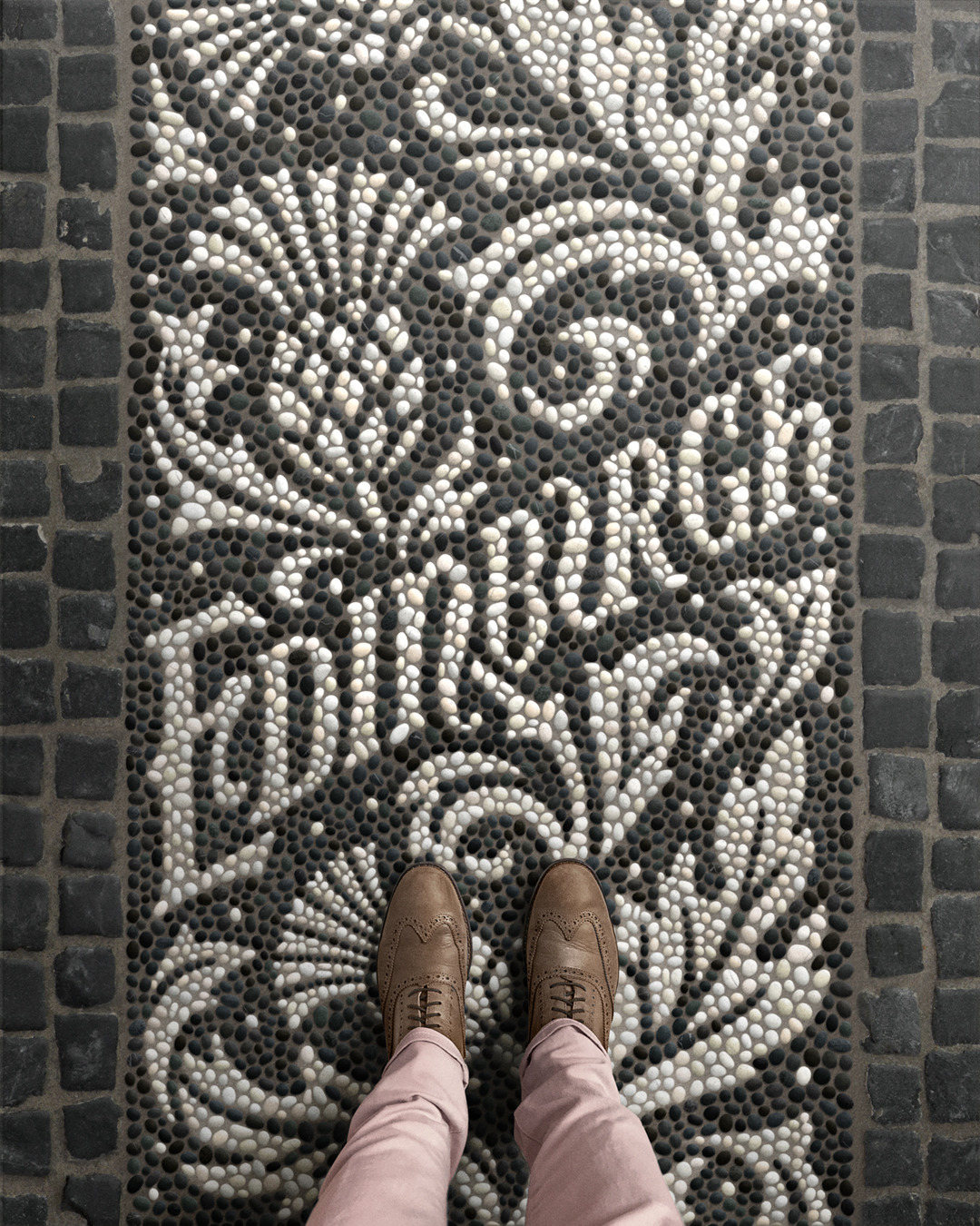Typografie, Typographic mosaic illustrations by Nick Misani