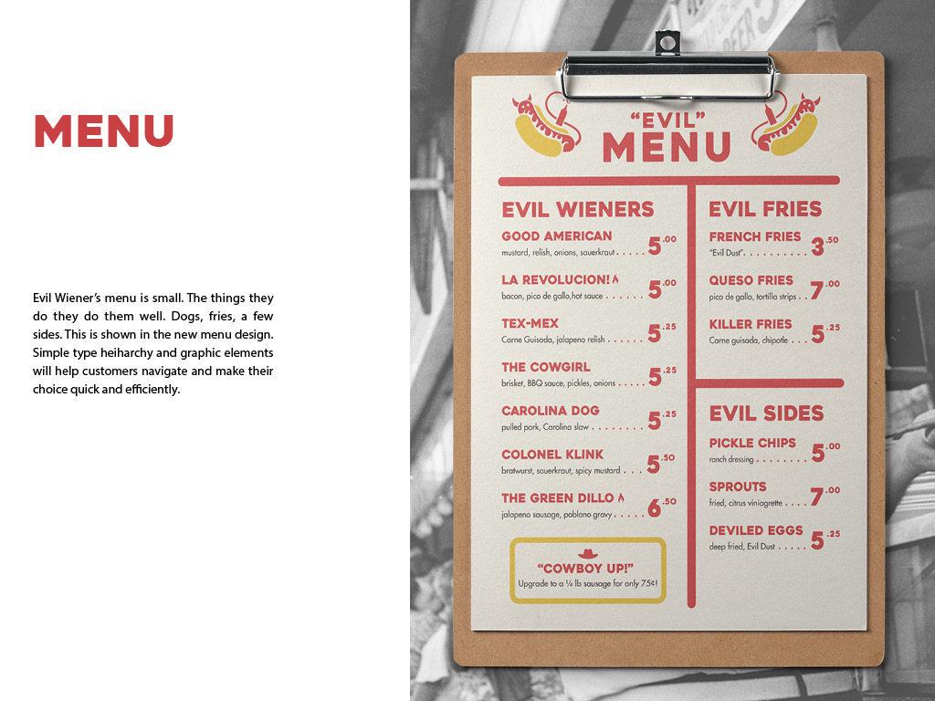 Evil Wiener Hot Dogs Food Truck