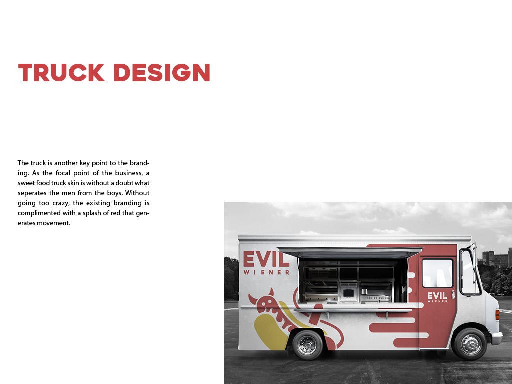 Branding - Evil Wiener Hot Dogs Food Truck