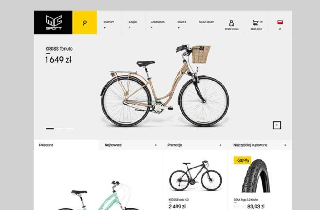 webdesign inspiration- website design von Krzysztof Turek