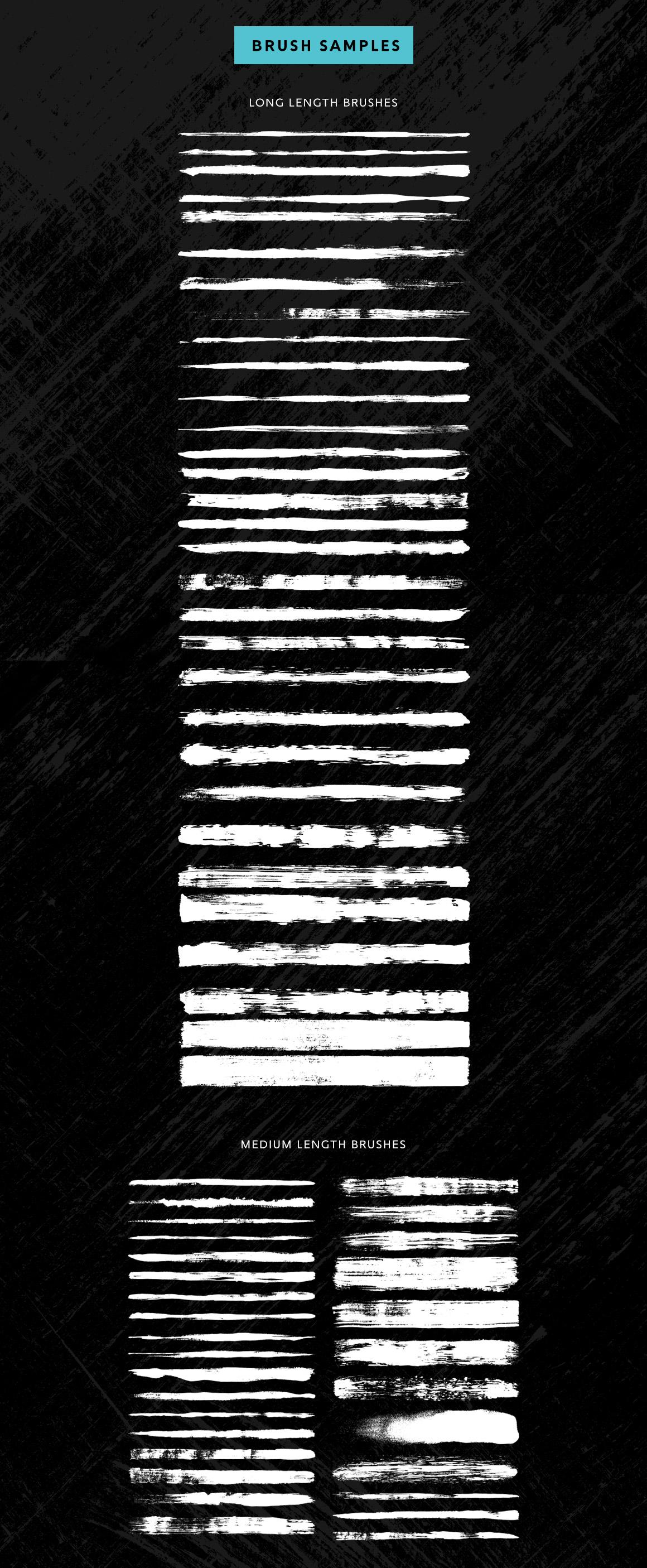Vector dry brush for Illustrator, Vektor Kunstpinsel