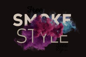 Smoke Effekt Mockup für Photoshop