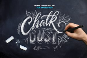 Kreide Pinsel für Photoshop -Chalk Brush for Adobe Photoshop
