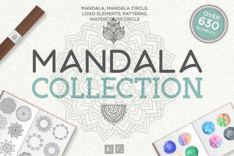 Mandala Vektor Illustrationen zum Download - Ressourcen und Tools für Designer