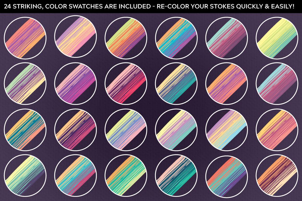 multicoloured mix strip7 design habitat