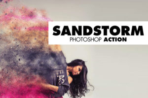 Sandstorm Photshop Aktion
