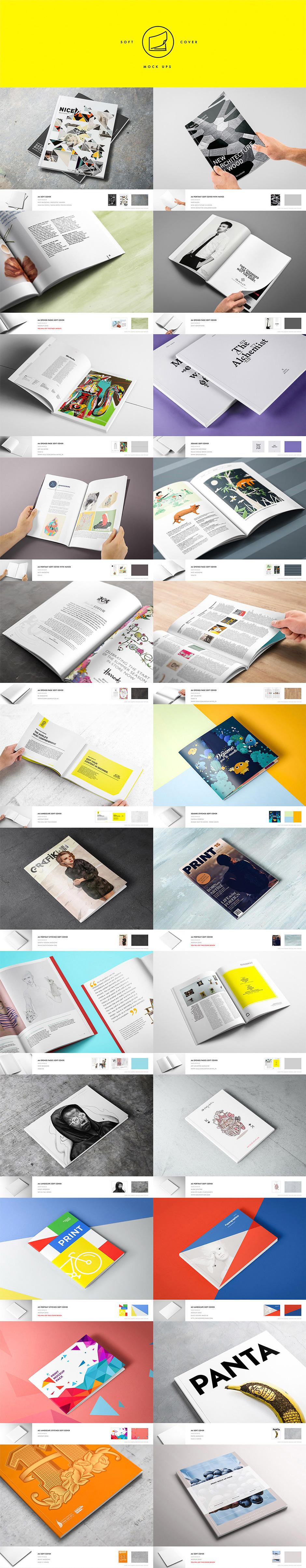 Print Design Mockup - Präsentationsvorlagen für deine Print Designs