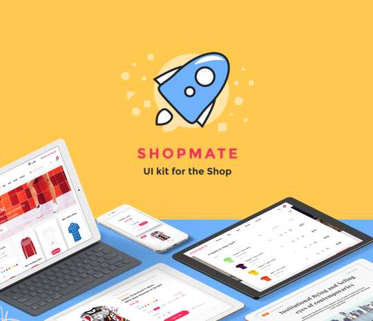 shopmate ui kit design habitat