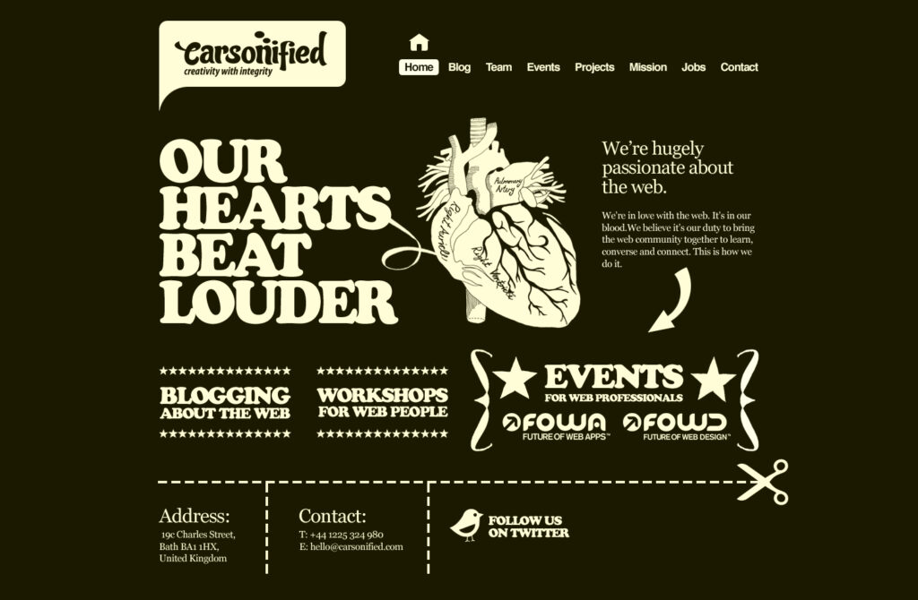 webdesign Inspiration - Carsonified