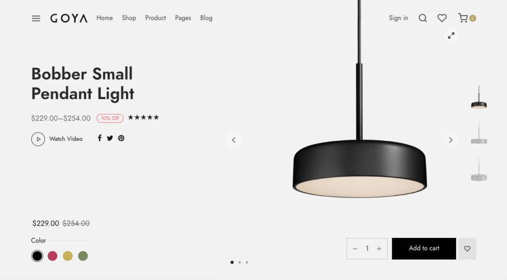 online shop wordpress theme