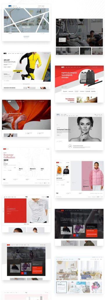 rey wordpress theme für online shops