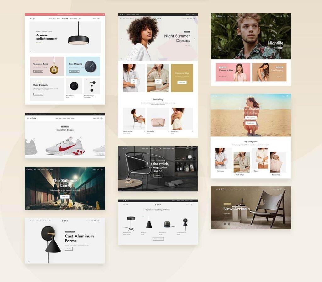 WordPress Theme für Online shop