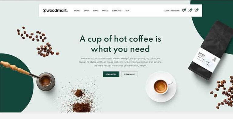 WoodMart WordPress Theme für Online Shops mit Woocommerce