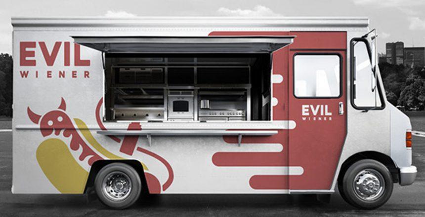 Branding -branding-evil-wiener-food-truck