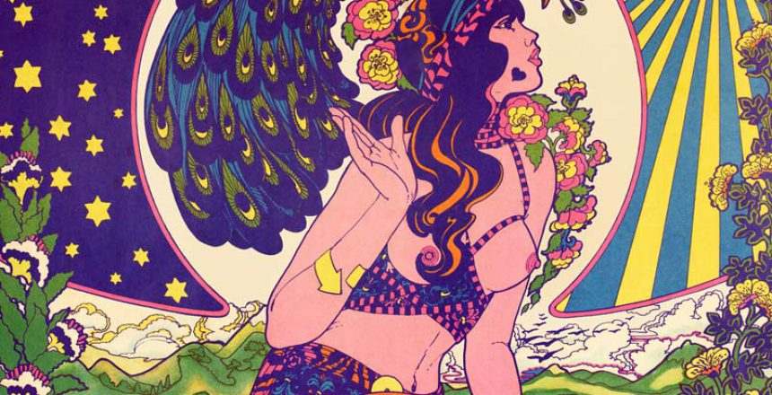 psychedelic cd Cover Design - blue pills von maryke