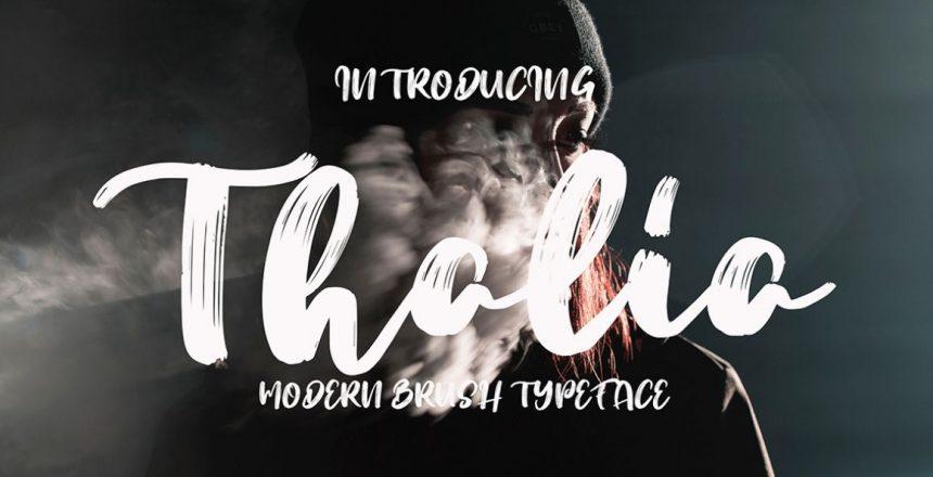 Thalia Free Font - Kostenloser Download Link zur kostenlosen Thalia Schrift
